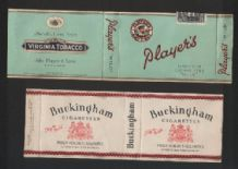 Collectible cigarette packets  2 different   #191